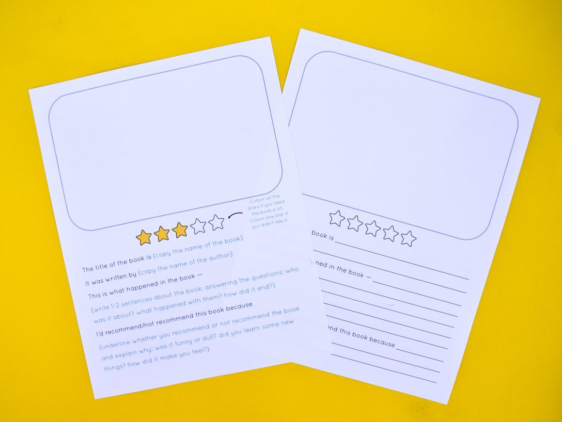 How to write a book review for kids book reviews for