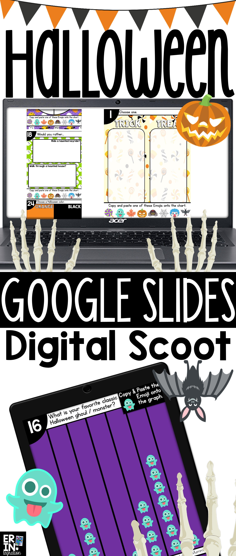 HALLOWEEN GOOGLE SLIDES DIGITAL SCOOT Google classroom