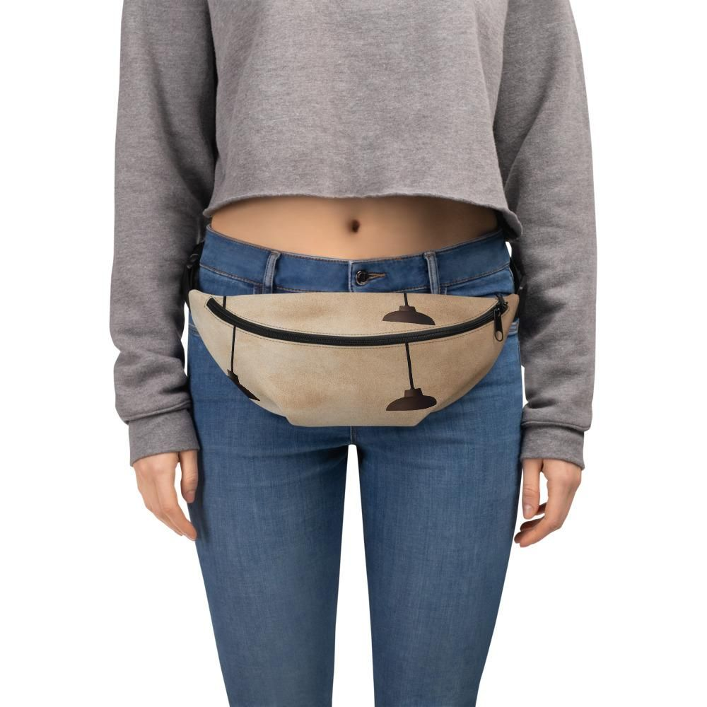 Cute Happy Pineapple Sport Waist Packs Fanny Pack Adjustable For Travel
