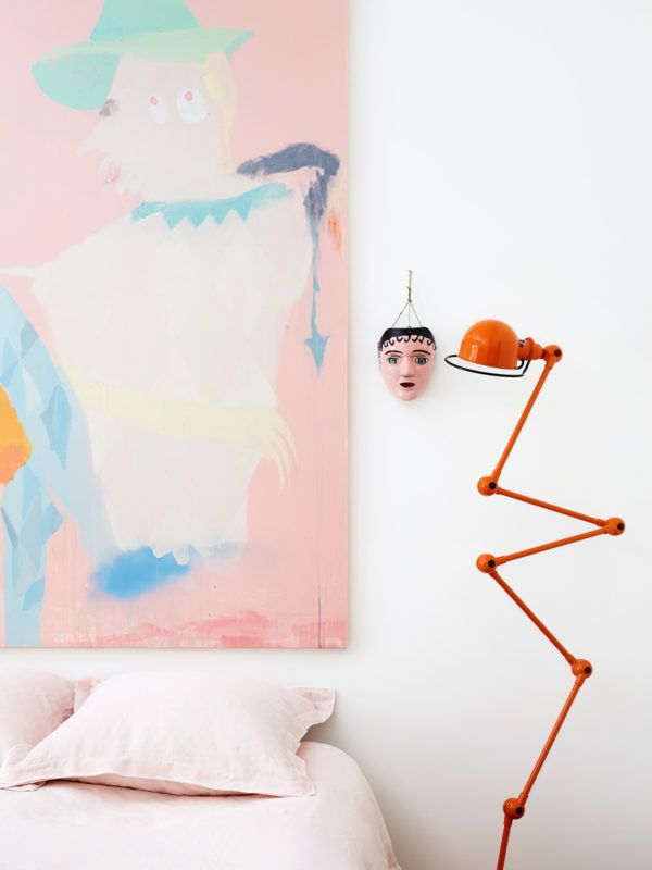 Detail from the Melbourne home of artist Miranda Skoczek & family. Photo – Caitlin Mills. Production – Lucy Feagins / The Design Files.