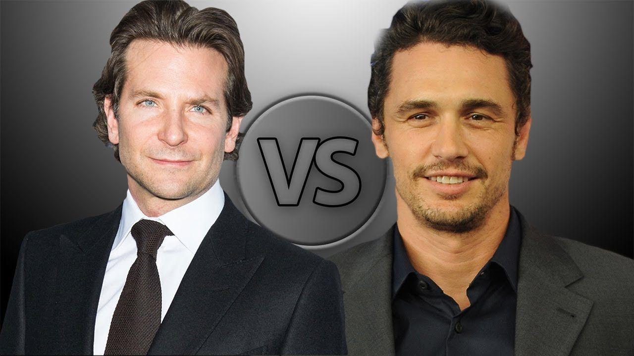 James Franco Girlfriend History Classy bradley cooper vs james franco | actor comparisons | pinterest