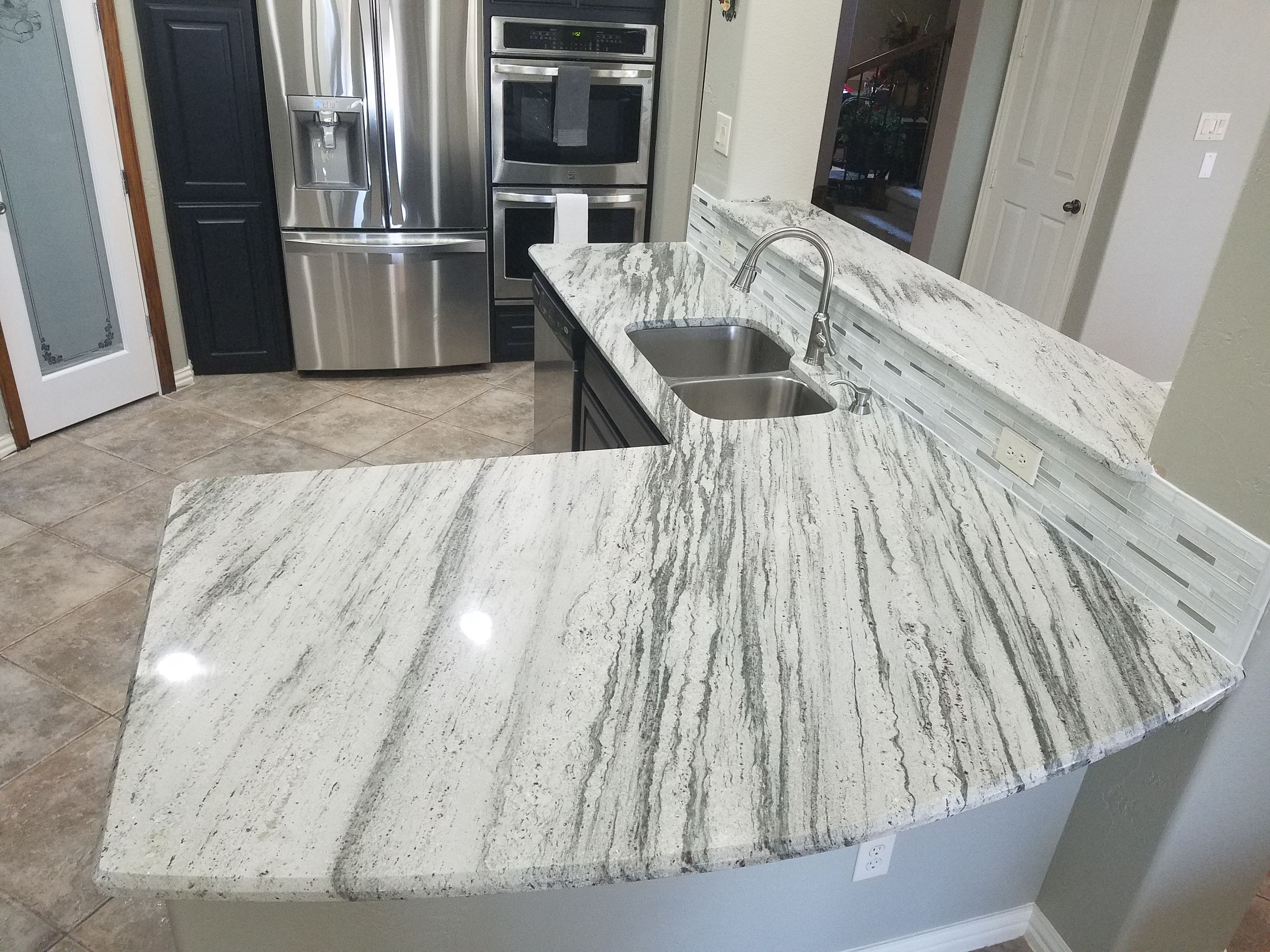River White Granite Countertops In Plano Tx White Granite