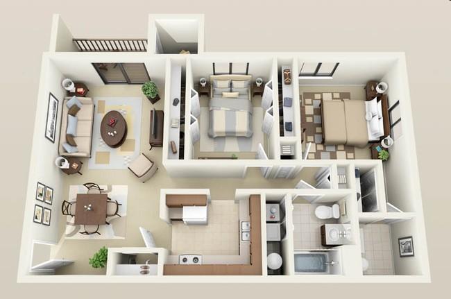 2 Bedroom Studio Apartments Devine Interiors In 2020 Apartment