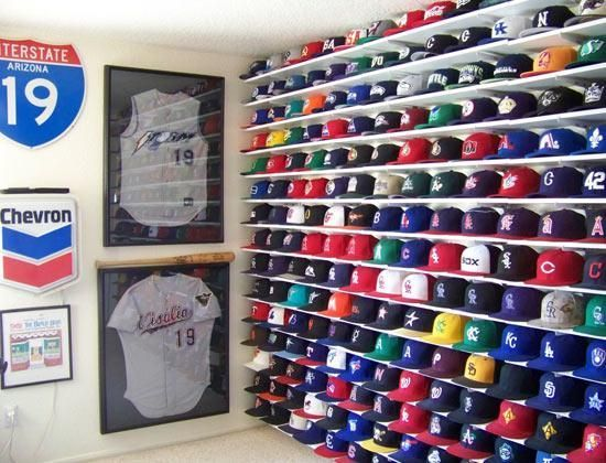 Are You A Fan Of Baseball Hats Snapbacks Or Any Other Cool Caps You Ll Definitely Love This Idea On Organizing You Diy Hat Rack Hat Storage Hat Organization