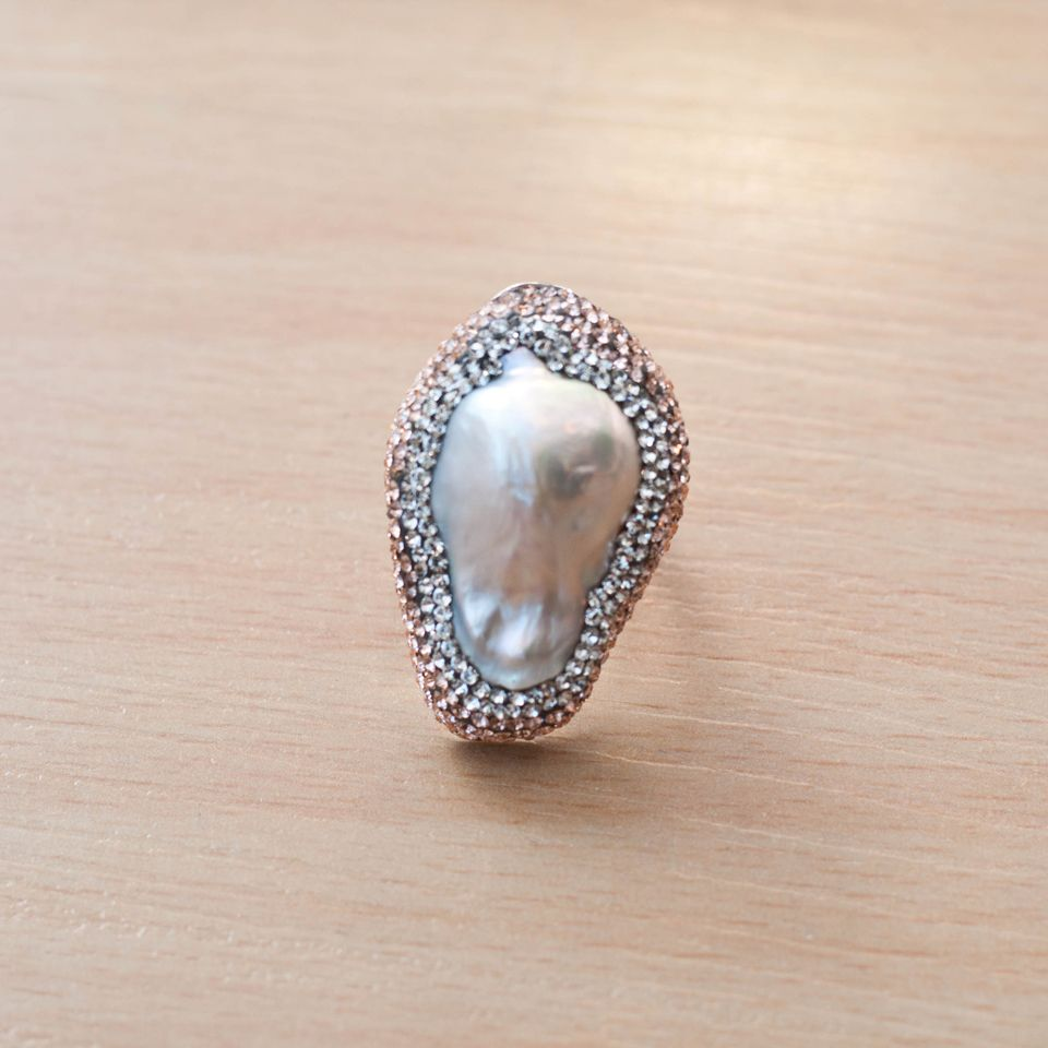 Pride and Pearls ring