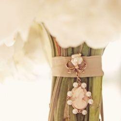 Wedding Bouquet Charms & Cameos