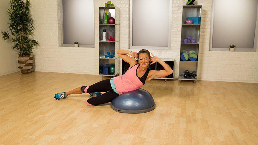 Banish The Bulge Muffin Top Workout Exercise Alone Will
