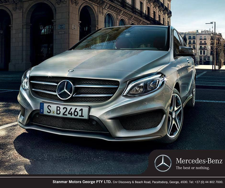 The New #MercedesBenz B-Class Is Sportier And More