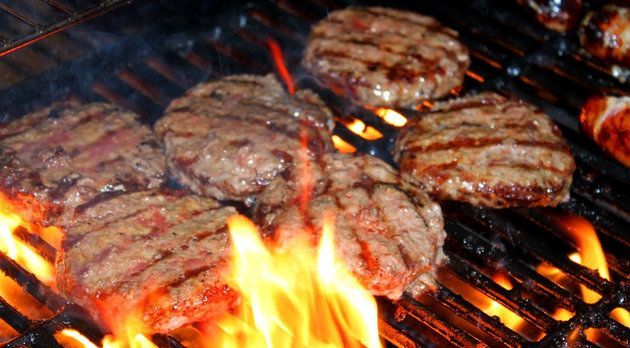 your backyard burgers are bursting with gross bacteria