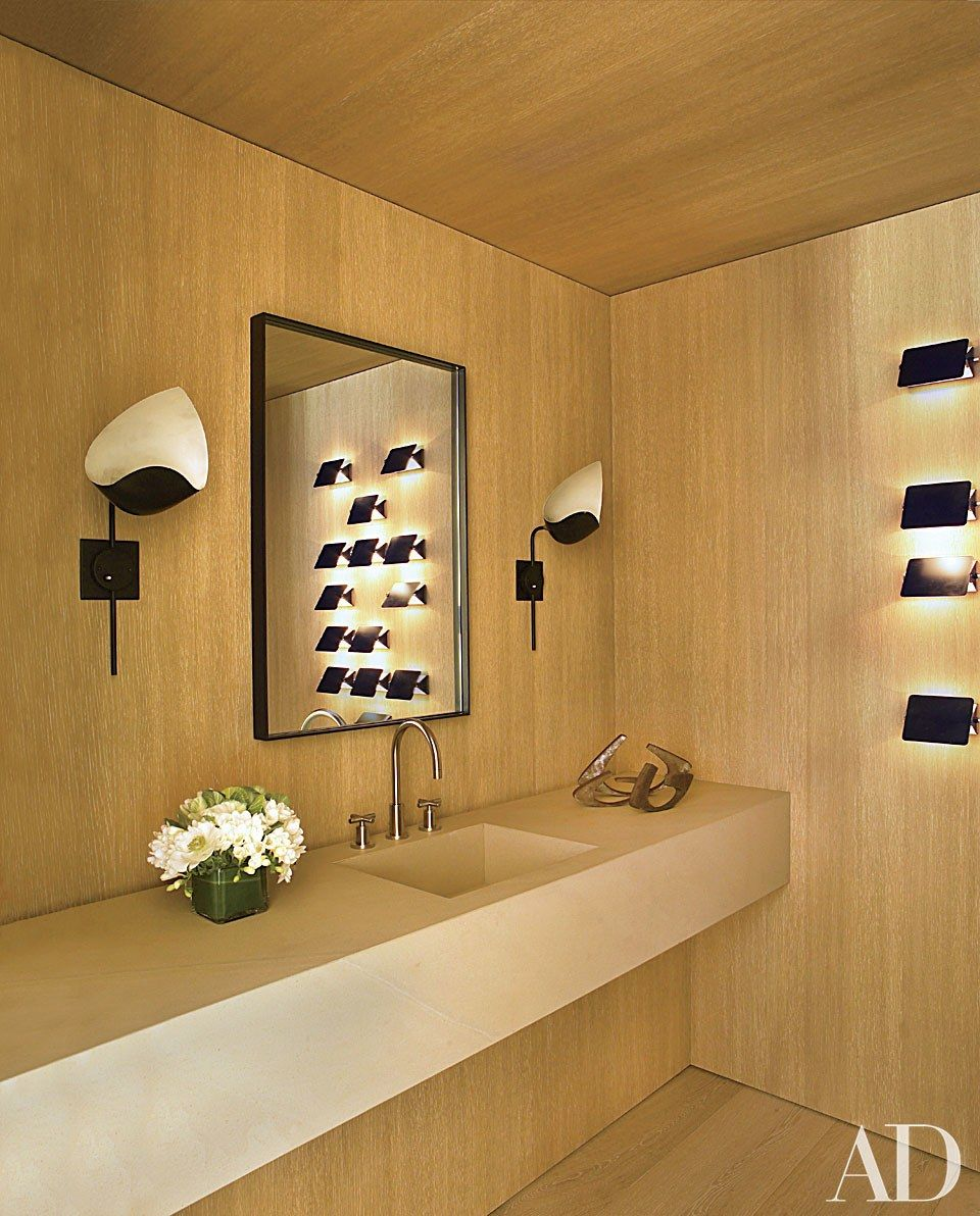Powder rooms sure to impress any guest bathrooms charlotte perriand perriand salle de bain - Salle de bain charlotte perriand ...