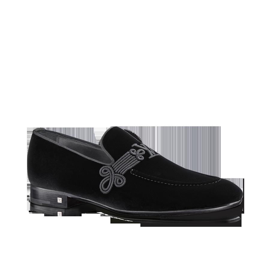 b41adec4803f Parade loafer in velvet via Louis Vuitton
