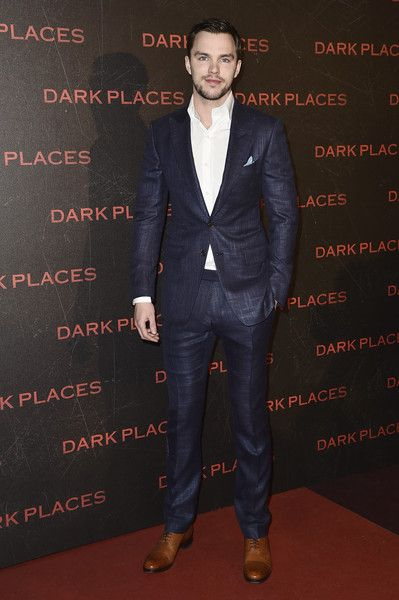Nicholas Hoult in Tom Ford , \u0027Dark Places\u0027 Paris Premiere suits