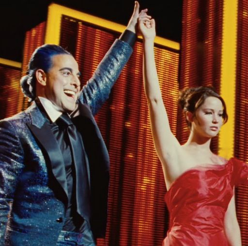 The Girl on Fire-Hunger Games