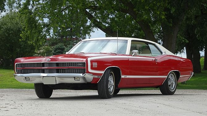 1969 Ford Xl Gt Mecum Auctions Ford Galaxie Ford Galaxie 500