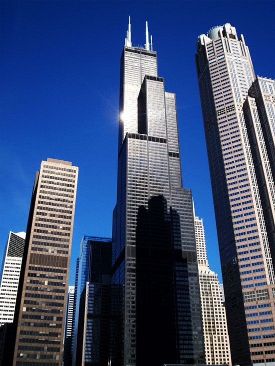 Willis Tower Skydeck (also Known As Sears Tower), Chicago, Illinois   10  Most Terrifying Places In The World To Look Down Best Of Web Shrine |  Pinterest ...