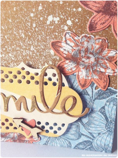 CARD a flower smile