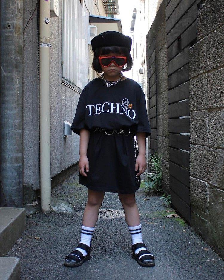 Essa E A Crianca Mais Estilosa Do Mundo Estilo Harajuku Ideias