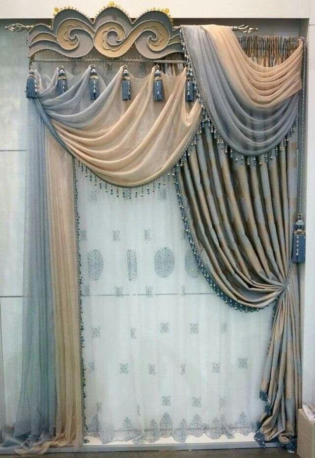 Curtain Decor Ideas For Living Room: Pin By Ainul Hamid On CURTAIN In 2019