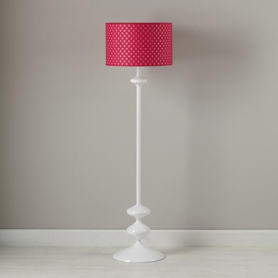 Kids Room Floor Lamp: Kids Floor Lamps: Pink Clover Floor Lamp Shade In Floor