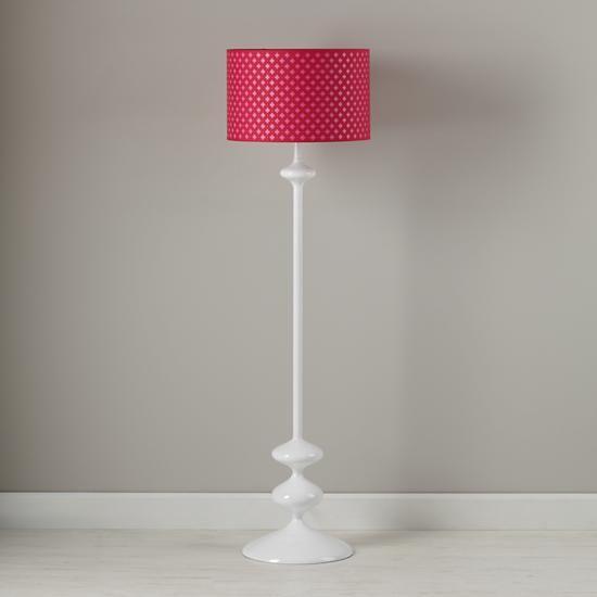 Kids Floor Lamps: Pink Clover Floor Lamp Shade in Floor ...