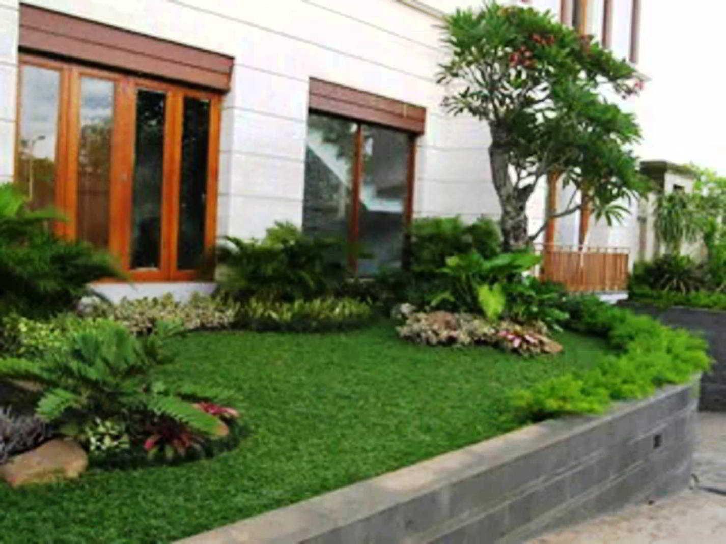 Desain Taman Minimalis Rumah Hook | Desain Taman Kecil, Desain Taman, Dekorasi Minimalis