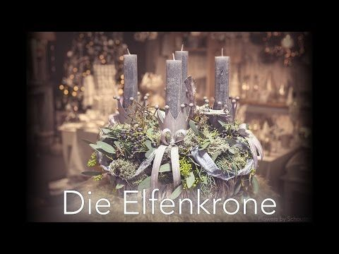 diy adventskranz die elfenkrone youtube x mas pinterest youtube. Black Bedroom Furniture Sets. Home Design Ideas