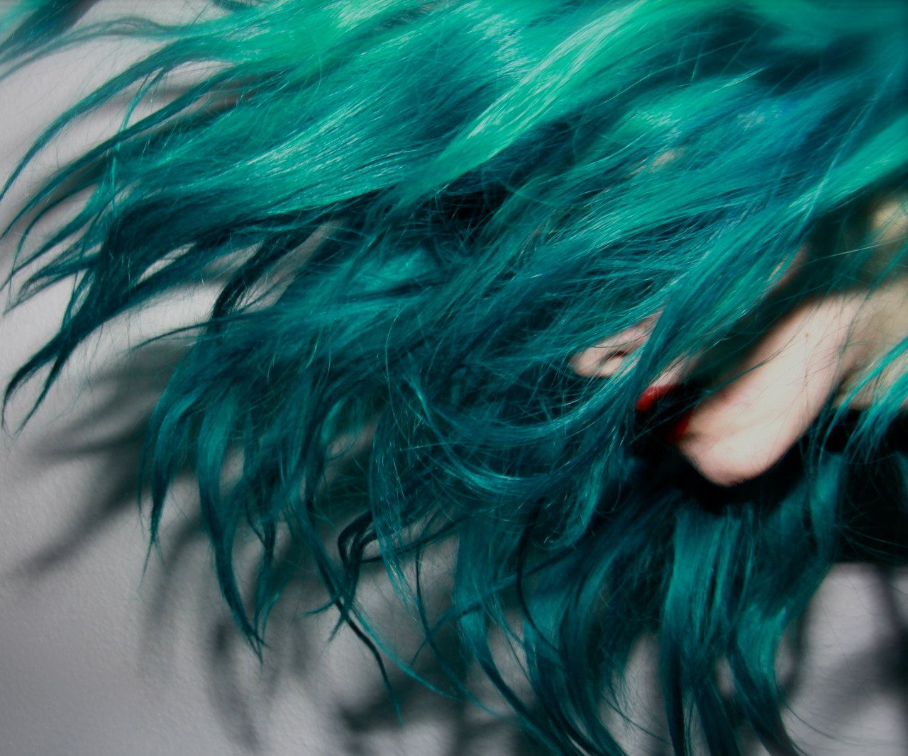 TURQUOISE Blueish Green Hair // Deluxe FULL by WarriorsOfCulture, $175.00