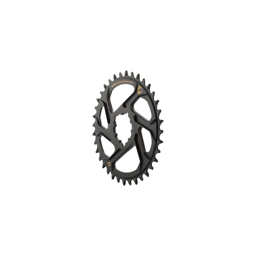 SRAM X-Sync 2 Eagle Direct Mount Chainring 38T Boost 3mm Offset with Gold Logo