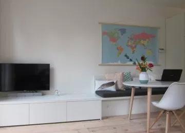 Ongebruikt Eethoek Met Bank Ikea (met afbeeldingen) | Woonkamer appartement VN-31