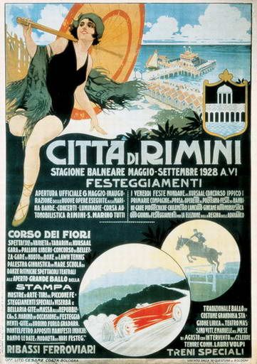 Anonimo, 1928, Il grande menu, manifesto pubblicitario per la ...
