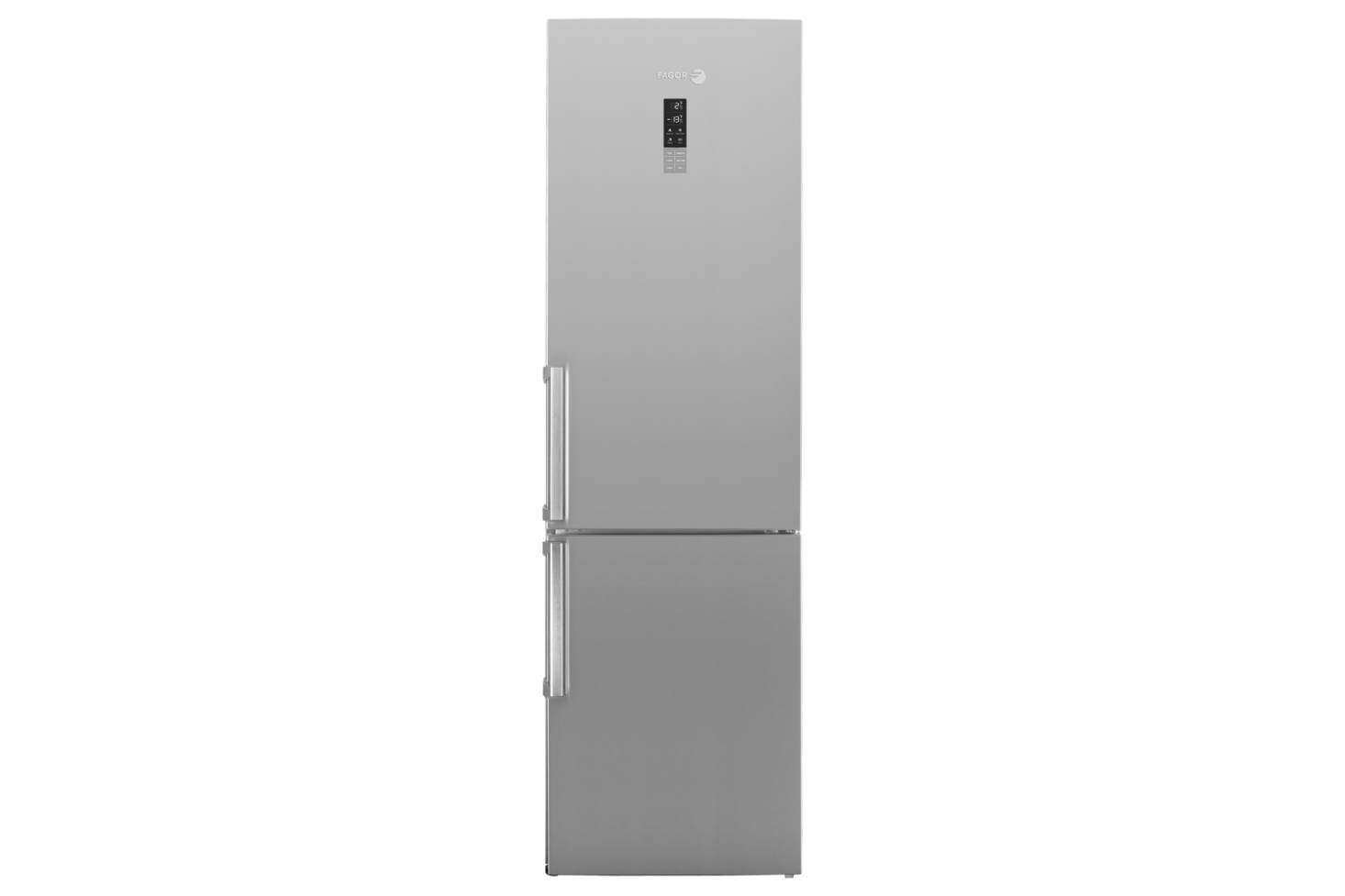 Fagor S Bmf200x 24 Inch Counter Depth Bottom Freezer Refrigerator Features Lcd Temperature Touch Controls On The F Refrigerator Narrow Kitchen Diy Sliding Door