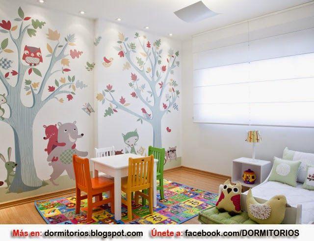 Habitaci n para ni a peque a decoraci n pinterest - Cuartos infantiles nina ...