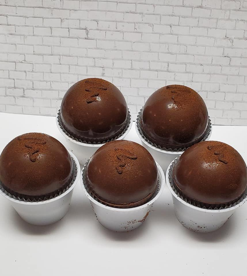 Hot chocolate bombs - Espresso flavored! #bomb #bombs #cocoa #cocoabomb #hotchocolate #hotcocoa