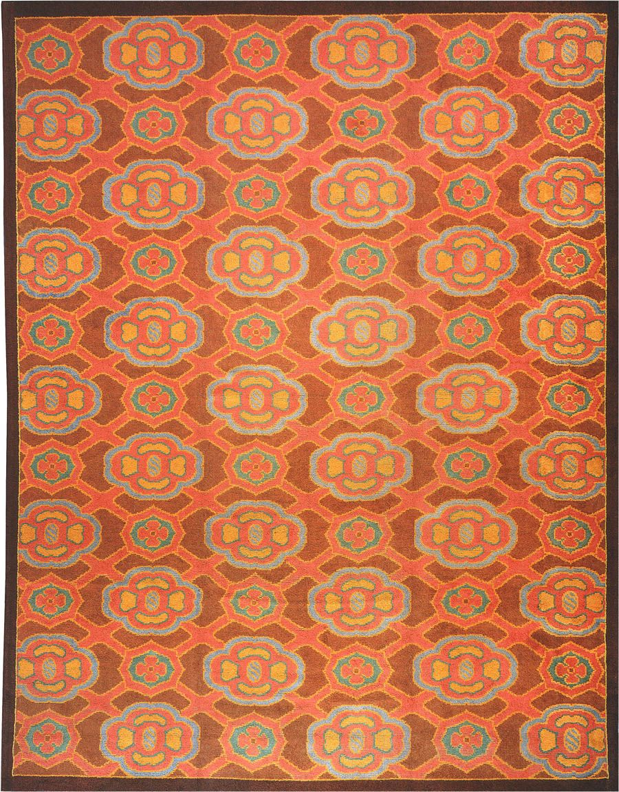 Beautiful Vintage Large Size French Art Deco Rug 899 By Nazmiyal Art Deco Rugs French Art Deco Art Deco