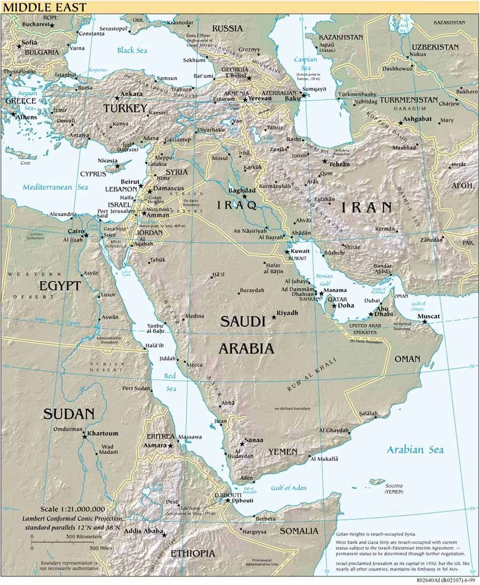 Pastor Brian S Prophecy News Middle East Maps