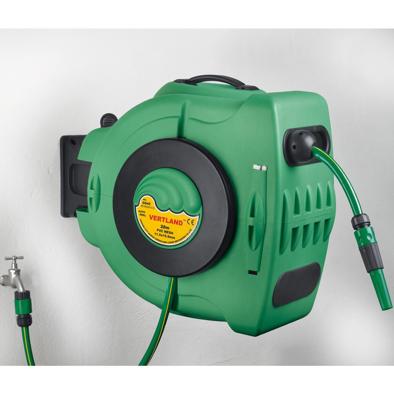 Automatic Hose Reel Winder Clever New Retractable With 90 Feet E