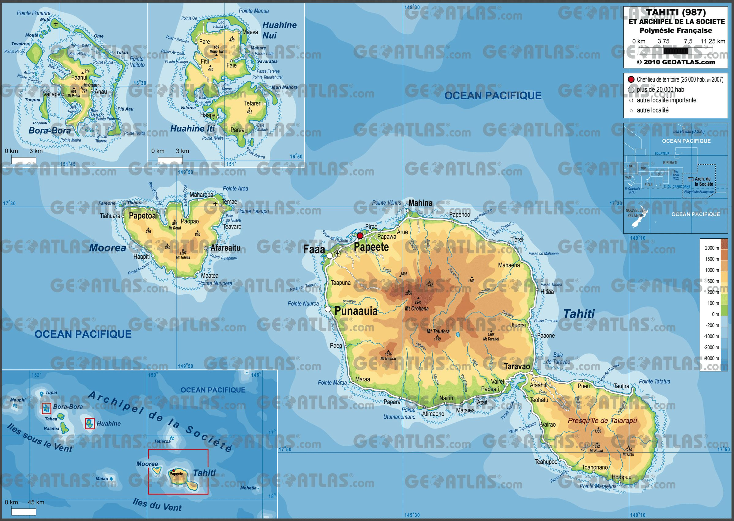 tahiti   987-tahiti - Preview Maps   Tannin\' N TAHITI   Pinterest ...