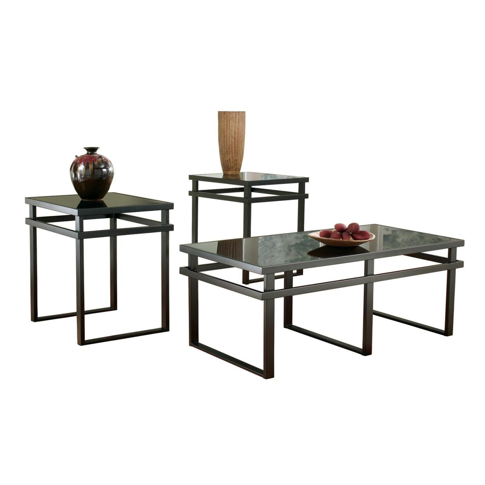 Best Laney 3Pc Occasional Table Set Living Room Table Sets 3 640 x 480