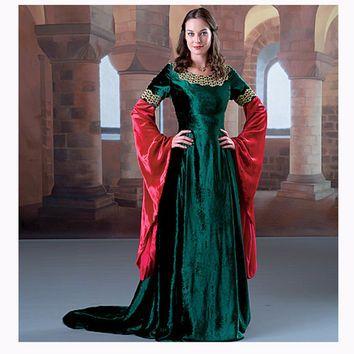 renaissance dress pattern medieval dress costume historic