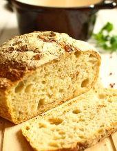"""Chleb pszenny z garnka (zwany też """"FOCH"""" - czyli Fenomenalnie Obłędny CHleb) - film video"""