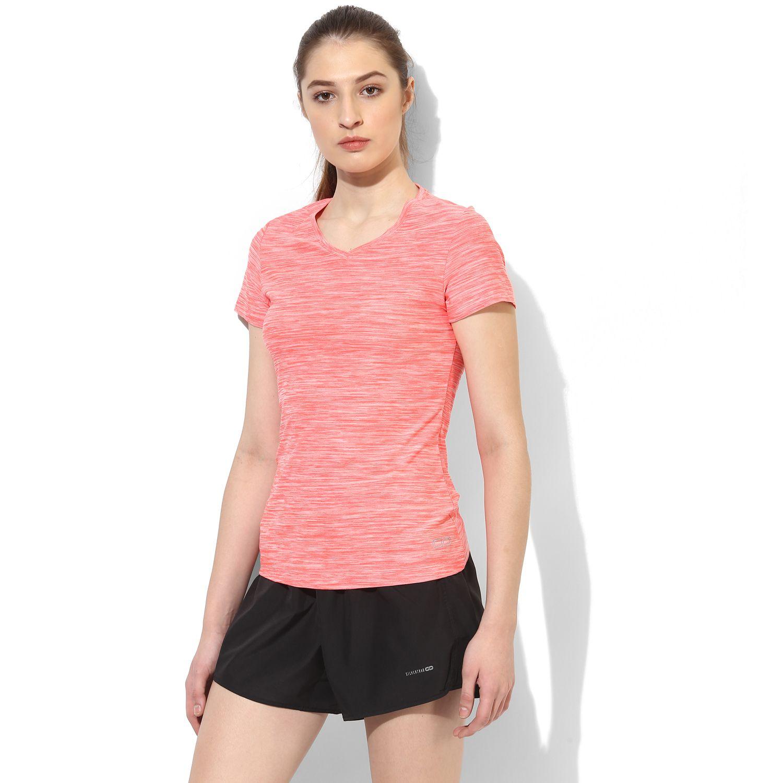 72adbbeb SILVERTRAQ WOMEN'S V NECK T-SHIRT Shop Online in India Wicking Sportswear  Top. Women's Fitness, Gym Wear / Apparel. Designer Workout Wear for Yoga,  Running, ...