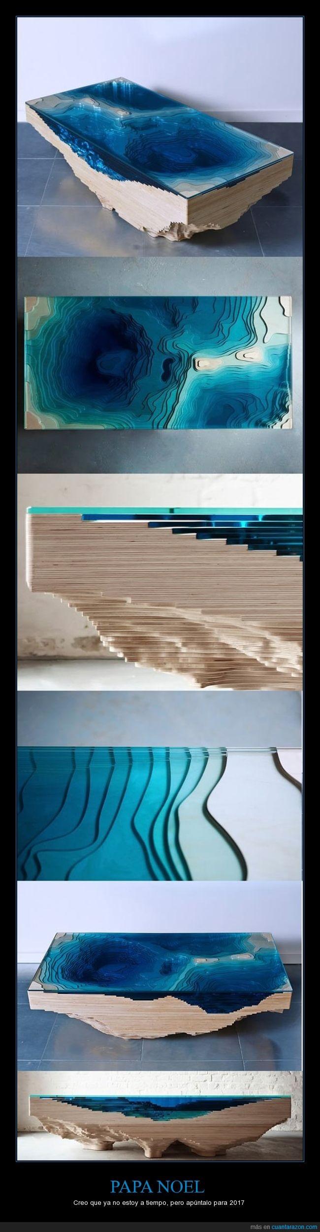 Espectacular diseño de mesa - Creo que ya no estoy a tiempo, pero apúntalo para 2017   Gracias a http://www.cuantarazon.com/   Si quieres leer la noticia completa visita: http://www.estoy-aburrido.com/espectacular-diseno-de-mesa-creo-que-ya-no-estoy-a-tiempo-pero-apuntalo-para-2017/