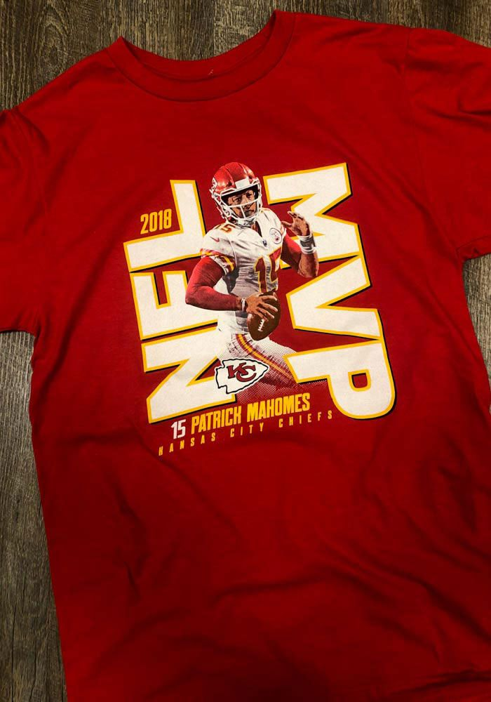 Patrick Mahomes Kansas City Chiefs Red 2018 MVP Short