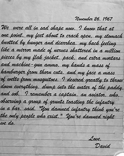 dear america letters home from vietnam cast