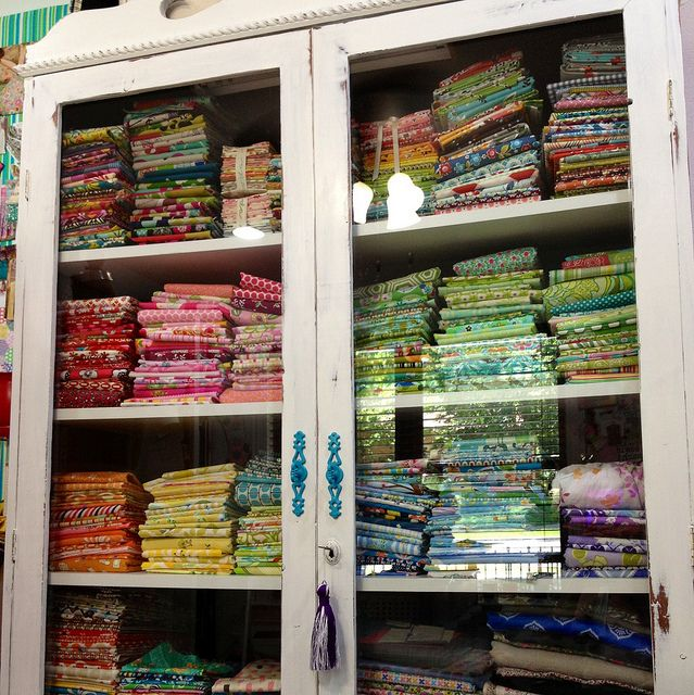 Quilt Sewing Room Organization