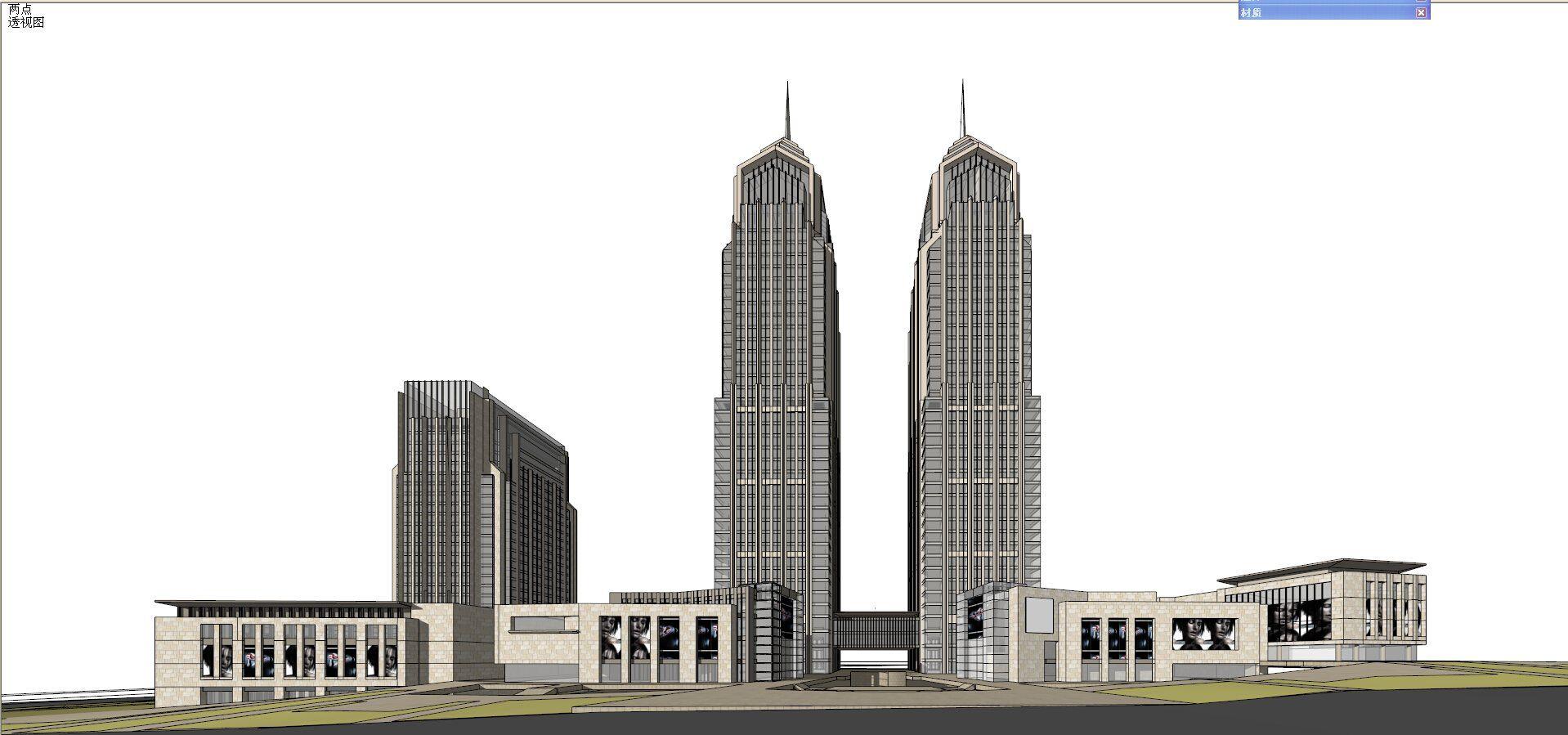 Sketchup 3d Models Skyscraper Sketchup Model Sketchup Model 3d Design Software 3d Model