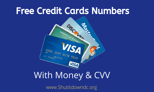 Looking for Working Credit Card Number Generator With Money & CVV