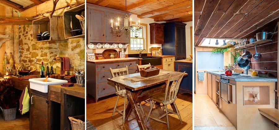 Excelentes ideas de c mo decorar cocinas peque as r sticas - Cocinas rusticas pequenas ...