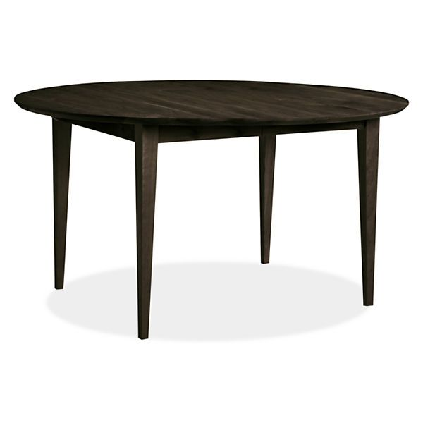 Adams Round Extension Tables Modern Dining Tables Modern