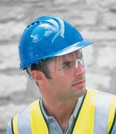 Jsp Mk7 Safety Helmet C W Retractaspec Safety Helmet Personal Protective Equipment Work Safety